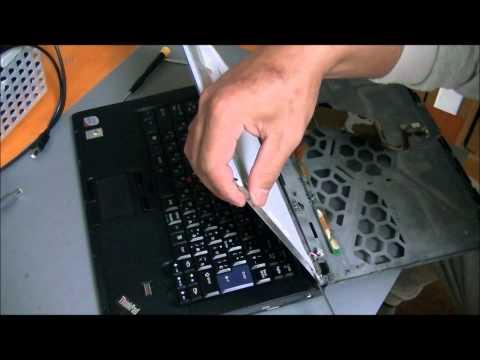 Lenovo Thinkpad T61 Screen Display BONKERS.AVI  How To Save Money And