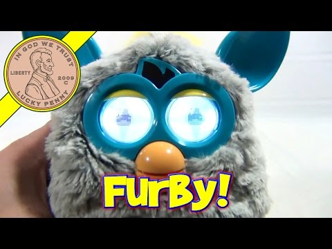 2012 Furby Raincloud. Hasbro Toys - Chats. Eats & Falls Asleep!