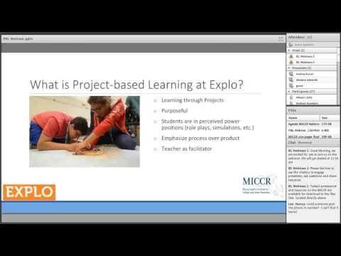 MICCR National Webinar on Project-Based Learning and Post-Secondary Preparedness