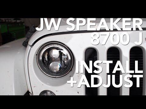 JW Speaker 8700 J - Installation & Horizontal Aim Adjustment