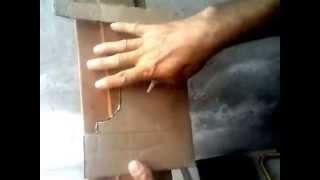 Cómo hacer MOLDURAS DE YESO Y CONCRETO (Elaborando una tarraja)...