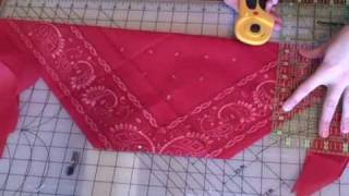 Bandana Bag Tutorial - Whitney Sews