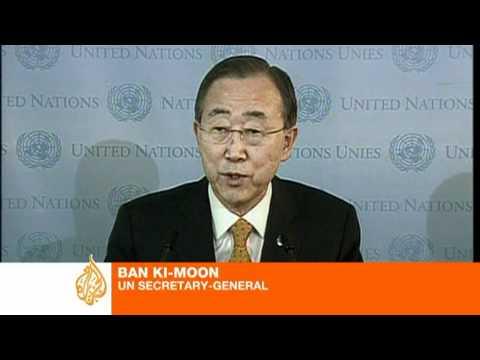 Ban Ki-moon comments on Libya