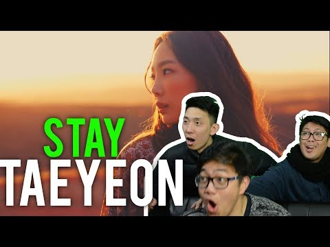 "Ohh.. テヨン 태연 TAEYEON We Will Always ""STAY"" (MV Reaction) #KINGTAEBAE"