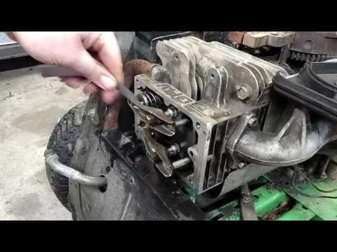 How to adjust valves on Briggs and Stratton