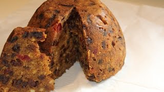 Home made Christmas pudding