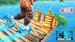 1000m hohe EIS PARKOUR CHALLENGE in Fortnite Battle Royale