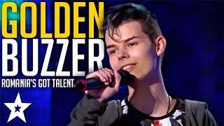 Download Lagu GOLDEN BUZZER MAROON 5 SINGER Blows Judges Away On Romania's Got Talent   Got Talent Gratis STAFABAND