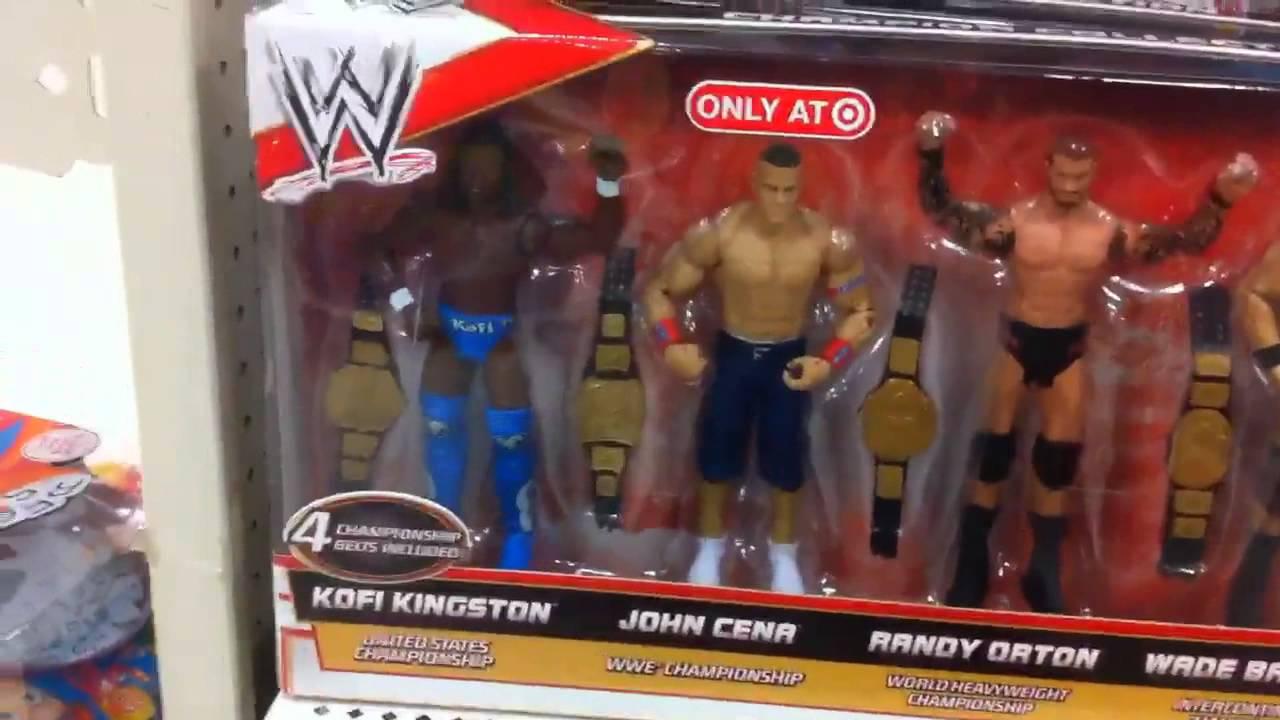 Target Wwe Toys : Wwe action insider target wrestling aisle figures elite
