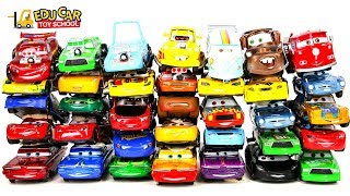 Learning Color Special Disney Pixar Cars Lightning McQueen Mack Truck Shooting for kids car toys