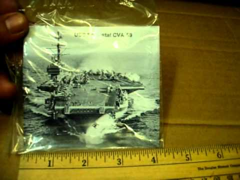 USS FORESTAL CVA 59 Refrigerator Magnet