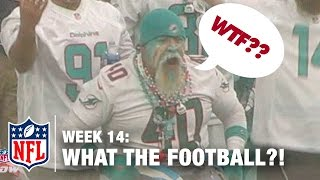 Top 5 Worst Moments (Week 14) | WTF: What The Football?! | NFL Now