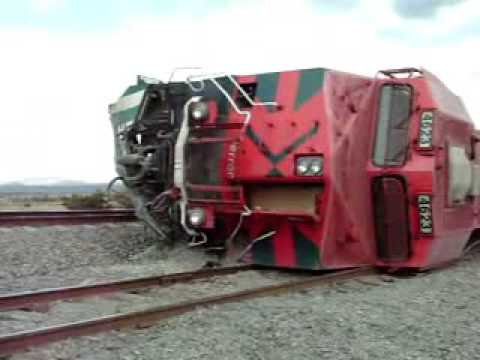 FXE Ferromex train derailment - descarrilamiento accidente