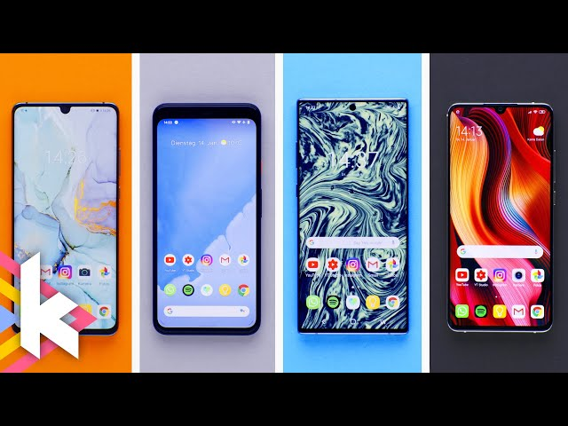 Was ist anders? Android-Betriebsysteme im Vergleich!