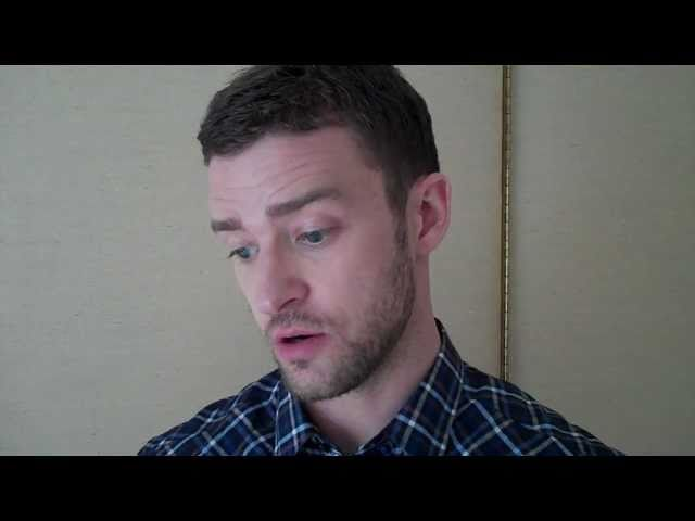 Justin Timberlake speaks with the HFPA