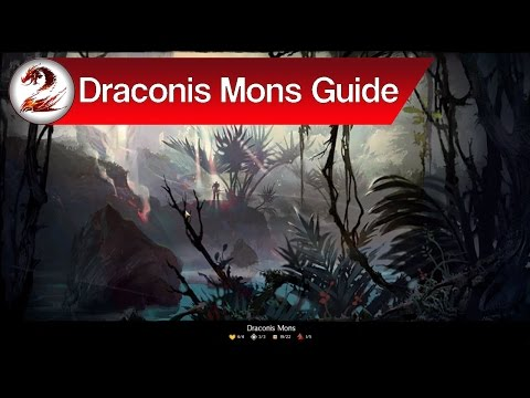 Guild Wars 2: Draconis Mons Map Guide | Primordial Orchids, Zinn Stashes, Rewards, Events + More!