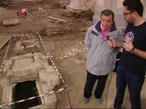 BITONTO – Scoperte camere sepolcrali durante i lavori alla chiesa di San Domenico