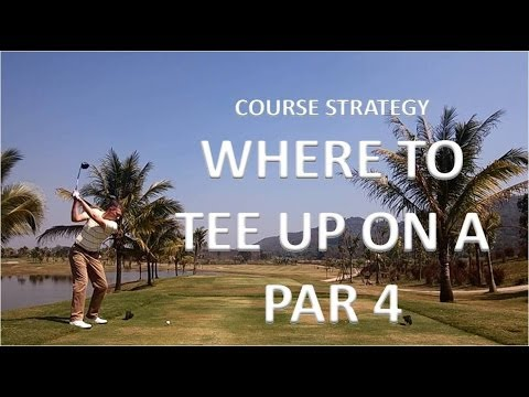 Golf Strategy - Where To Tee Up On A Par 4