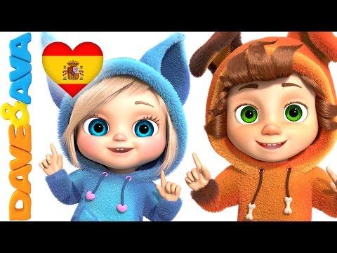 Canciones Infantiles   Canciones Para Bebés de Dave y Ava   Un Dedito