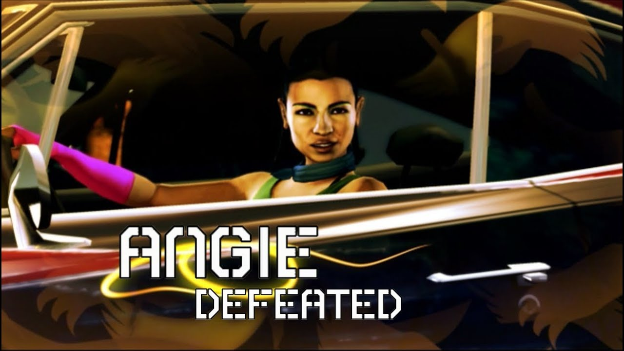 Need For Speed Carbon Boss Race Angie Muscle Youtube