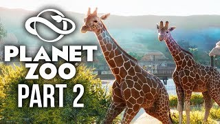 PLANET ZOO Gameplay Walkthrough Part 2 - FIRST BABIES