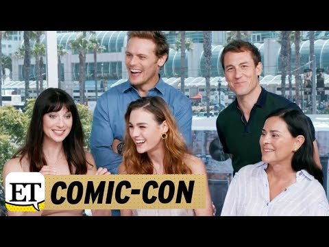 Comic Con 2017 Live With The Cast Of Outlander