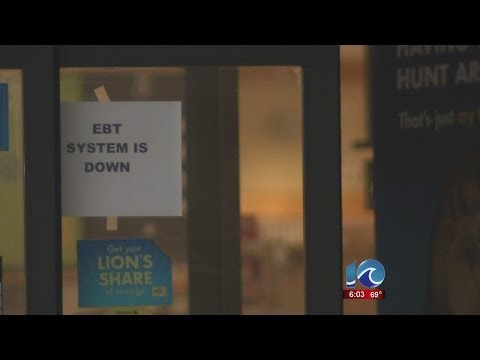 Liz Palka reports on EBT card problems