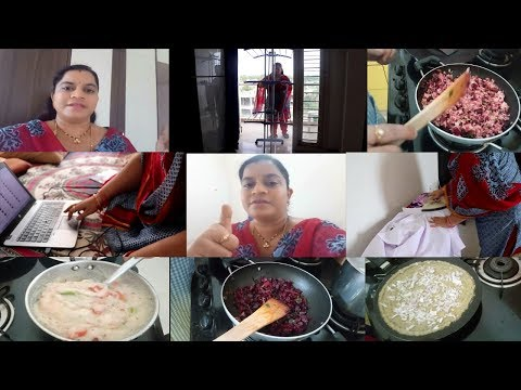 LAZY DAY MONDAY DO U AGREE????||BEETROOT FRY||SOOJI RAVA UPMA||RAMA SWEET HOME