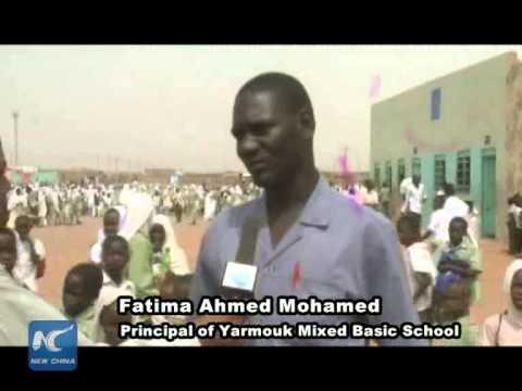 China initiative tries to help Sudan's displaced children