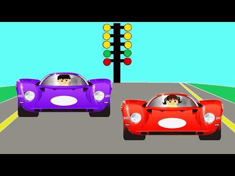 Автогонки  Гоночные Машины  Мультики про машинки