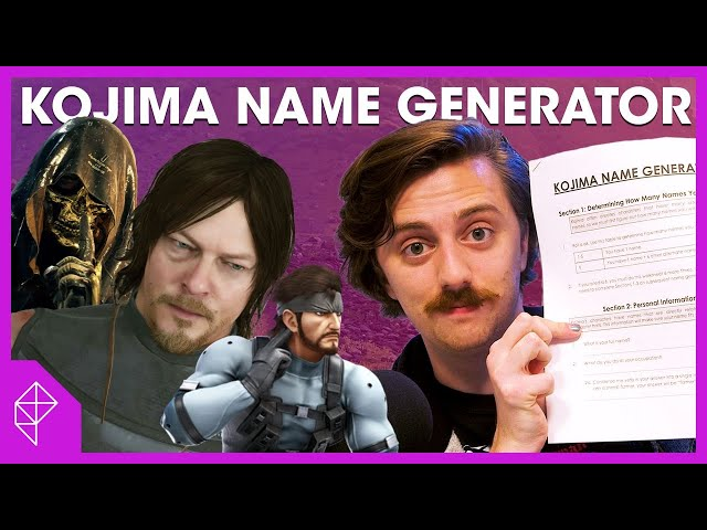 Find your Kojima name with my simple 11-page form | Unraveled BONUS thumbnail