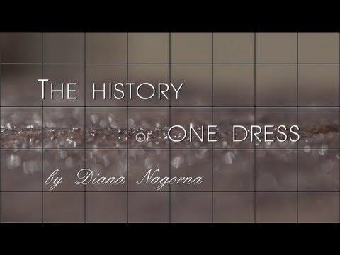 Diana Nagorna: The history of one dress. Диана Нагорная: История одного платья.