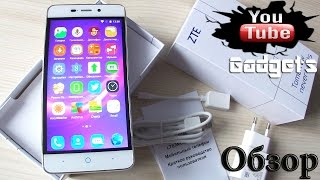 ZTE Blade X3 4000 мАч 4G LTE Android 5.1 Lollipop Обзор смартфона