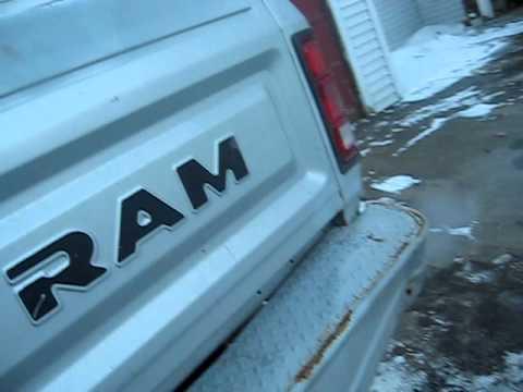1987 Dodge Power Ram.