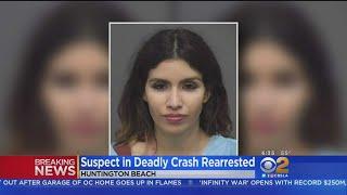 Woman Suspected In Triple Fatal Crash Re-Arrested