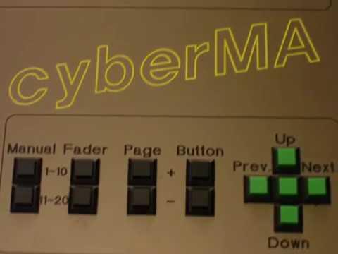 Die cyberMA - ein Projekt auf Basis der GrandMA OnPC Software