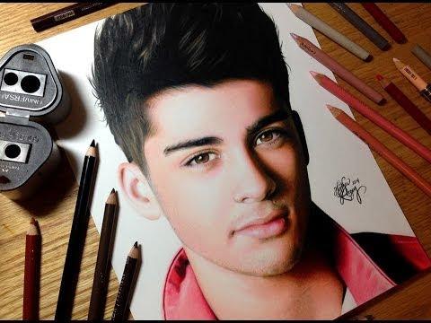 Drawing Zayn Malik