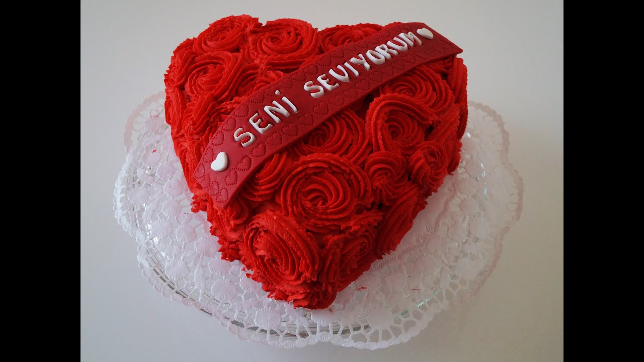 Love Cake ( Valentinstag Torte ) - YouTube