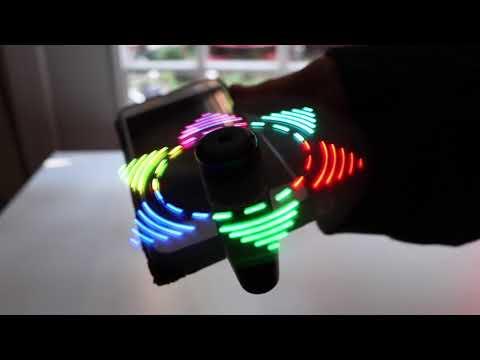 😍 FlashFan   ❤️ Cellphone  Fan With  LED Lights - Review    ✅
