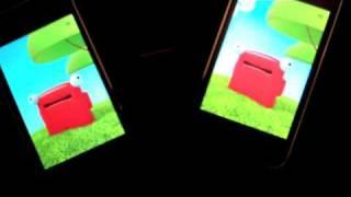 Thumb iPhone: Talking Carl vs Talking Carl