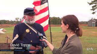 Civil War Re-enactors Weigh in on Confederate Monuments Controversy