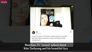 BTS V {Taehyung} has a perfect face ???:Brazilian Plastic Surgeon