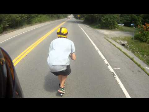Downhill Scootering