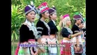 Huab Ci Yaj 'Noj Peb Caug' wmv   YouTube