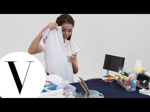 李毓芬為 2014 VOGUE 全球購物夜製作T恤
