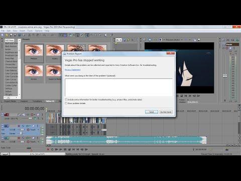 How to Fix Render Crash Error for Sony Vegas Pro