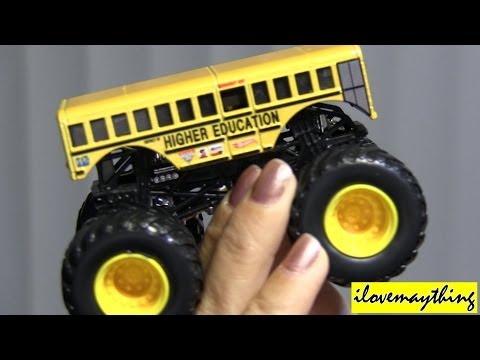 Unboxing Monster Jam Truck HIGHER EDUCATION