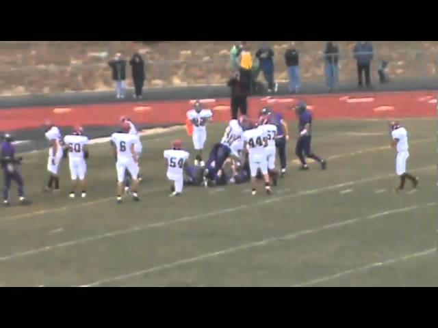 11-20-10 - Skyler Seewald scores again (Brush 34, Bayfield 17)