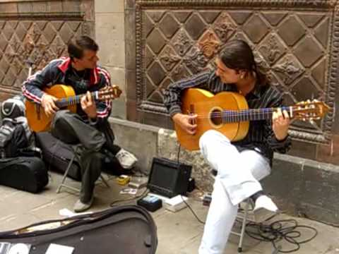 Flamenco Guitar Barcelona Music Videos