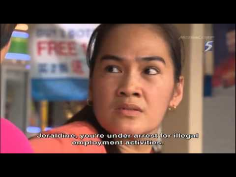 CrimeWatch 2012 Ep08 Pt1/2 - Employment Scam - 28Oct2012